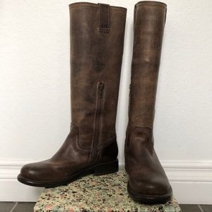 Frye Knee High Leather Boots